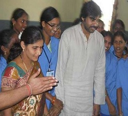 Pawan Kalyan Visits Rajam Photos