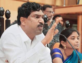 Telangana Deputy CM Rajiah Dismissed