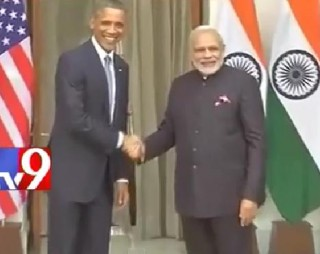 Obama reaches Hyderabad House