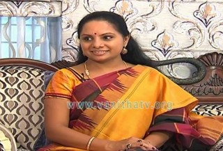 Nizamabad MP Kalvakuntla Kavitha Interview – Chatta Saballo Vanitha
