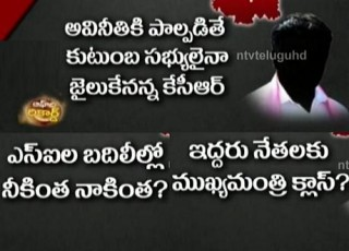 TRS Leaders Fears With KCR About Rajaiah Issue – Off The Record
