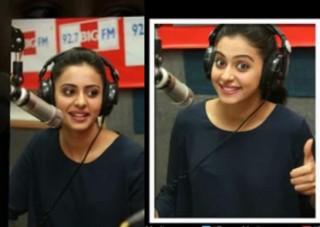 Rakul Preet Latest Stills at Big FM