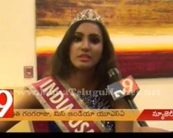 Miss India USA is Pranathi Gangaraju
