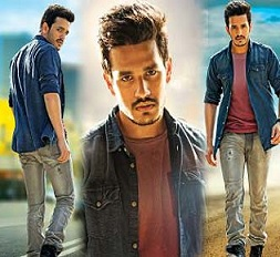 Akhil First Look Posters