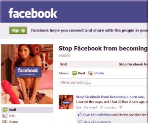 Beware of Facebook Porn!