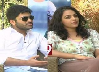 Nithya Menen and Sharwanand on Malli Malli Idi Rani Roju movie