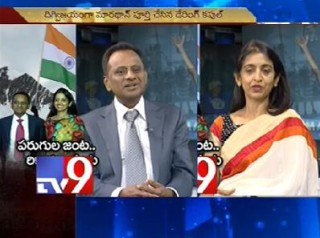 Telugu couple sets new record in wold marathon,in Tv9 studios