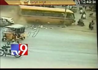 5 die as private bus rams into public in Rajahmundry
