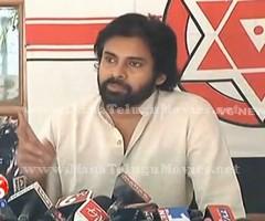 Pawan Kalyan addresses media on Land Pooling at Janasena Party Office