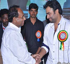 Nara Rohit And Kodela Siva Prasad at Eswar College Of Engineering