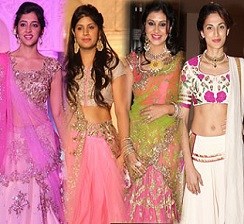Celebs at Princess on the Ramp Event