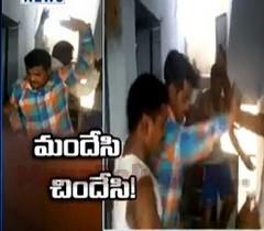 Drunken Police Dances At Aler Police Station Rest Room