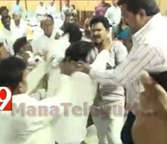 Corporators come to blows at Rajahmundry Municipal meet
