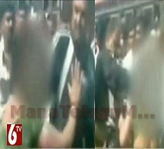 Police Brutally Beat Woman On Road At Mumbai