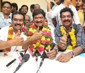 Rajendra Prasad MAA Victory Celebrations – Gallery