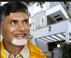 AP CM Chandrababu Naidu, who just returned Hyderabad on Saturday after wrapping up hectic six-day China trip, moved into rented house in Jubilee Hilss Road ... - untitled192