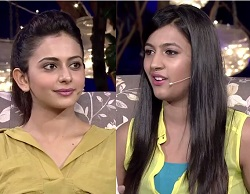 Rakul Preet Singh  in Neeharika Special Show Gupshup – E 5 – 28th May