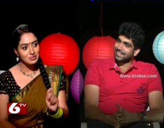 Agnipoolu Serial Fame Vijay in Rocking Ramulamma Show