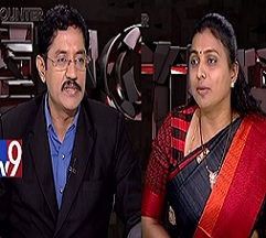 Murali Krishna Encounter with YSRCP Roja