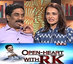 Akkineni Amala in Open Heart With RK – 9th Aug