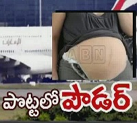Women Caught at RGI Airport with Drugs in her Stomach