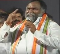 Jagga Reddy warns CM KCR and Telangana Ministers