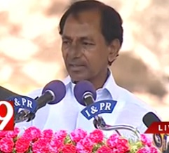 KCR's Office Shifting To China for 8 Days