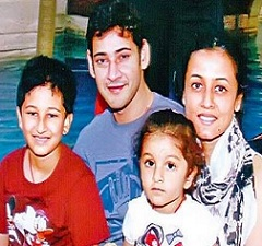 Kids Fly Off To Chennai For Mahesh Daddy