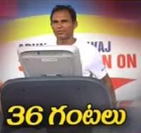 Arun Bharadwaj's 36 hrs treadmill marathon sets new records