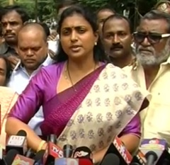 'Chandrababu Is Kalakeya Of AP': Roja