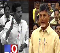 Y S Jagan Vs. Chandrababu in AP Assembly