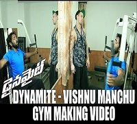 Dynamite – Vishnu Manchu Gym making video