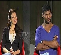 Kajal , Vishal Special Interview