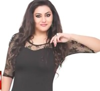 Namitha is back with bang in Size Zero look