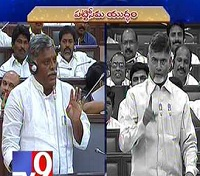 AP Assembly : Chandrababu corners YSRCP on Pattiseema