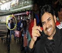 Power Star Pawan Kalyan Spotted At Hyderabad Airport Video…!!!