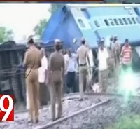 Chennai – Mangalore Express derails near Cuddalore,40 injured