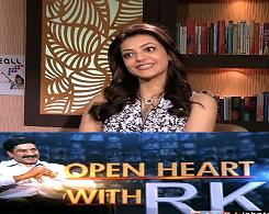 Actress Kajal Agarwal in Open Heart With RK – 20th Sep