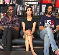 Exclusive Interview with Manchu Vishnu, Pranitha and J D Chakravarthy