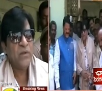 Actor Ali Visits Medak Dist, takes part in noble cause