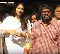 Rudramadevi Movie Team Visits Tirumala Temple
