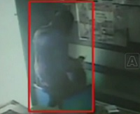 CCTV Footage of Lady Robbery in AP Online Center   Hyderabad