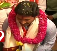 YS Jagan prays at Vijayawada Durga Temple ahead of Deeksha