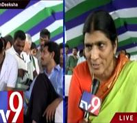 YS Jagan deeksha : Lakshmi Parvati calls Chandrababu Scared