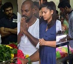 Celebs Condolences To Manorama Photos