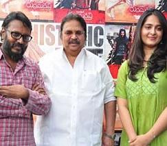 Rudhramadevi Team Meets Dasari Photos