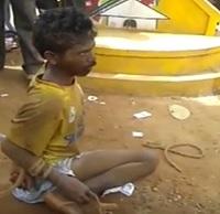 Psycho attacks passersby, captured in Srikakulam