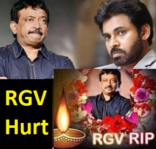 Pawan Kalyan Fans Circulate RIP RGV Pictures, Ramu's Reaction is ??
