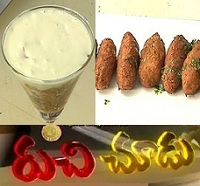 Cucumber Traffis,Mexican Crockets Recipes – Ruchi Chudu 6th Oct