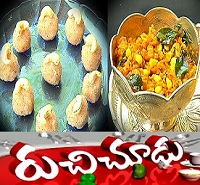 Kobbari Laddu,Corn Carrot Curry Recipes – Ruchi Chudu 14th Oct